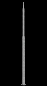 Stîlpi metalici zincați octogonali cu accesorii